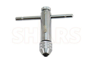 Shars 0 1 4 T handle Ratchet Tap Wrench New