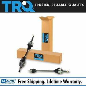 Trq Front Cv Joint Axle Shaft Assembly Pair Set 2pc New For Corolla Celica Prizm