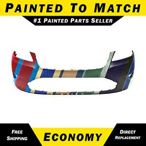 New Painted To Match Front Bumper Cover For 2010 2012 Ford Taurus Fo1000651