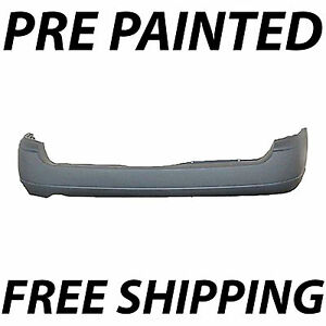 New Painted To Match Rear Bumper Cover For 2000 2007 Ford Focus Wagon 00 07