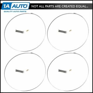 Motorcraft Tpms8 Tire Pressure Monitor Sensor Attachment Kit Set Of 4 For Ford