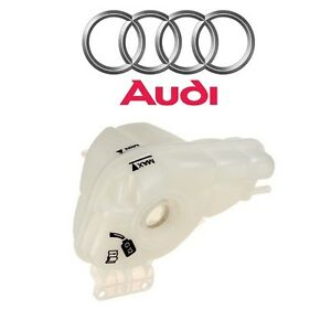 For Audi A8 Quattro Engine Coolant Recovery Expansion Tank Genuine 4e0 121 403 G