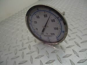 Ashcroft Thermometer thermowell 20 To 120 Deg F