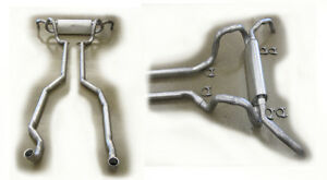 1974 Pontiac Trans Am Super Duty Dual Exhaust System Complete New