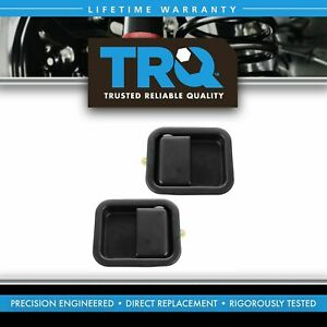 1a Metal Door Handles Outside Exterior Front Lh Rh Pair Set For Jeep Wrangler