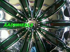 24 Velocity V820 Wheels Rims tires Fit Chevy ford 6 5 Lug Truck Or Suv Deal