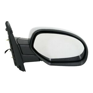 Power Mirror For 2007 2013 Chevrolet Silverado 1500 Right Manual Folding Chrome