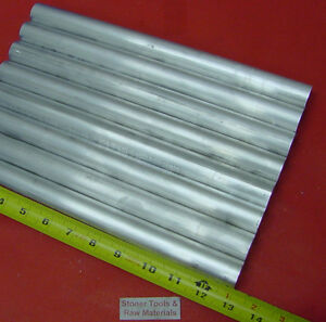 8 Pieces 1 Aluminum 6061 Round Rod 13 Long Solid T6511 1 000 Lathe Bar Stock
