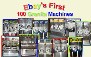 100 Refurbished Granita Margarita Slush Machines