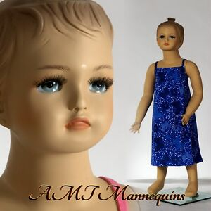 Child Mannequin Manikin Abt 1 Year Old Christmas Doll Baby Girl Manikin cat