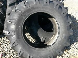 Two 14 9x26 14 9 26 Ford John Deere 8 Ply Tube Type Bar Lug Farm Tractor Tires