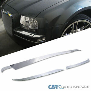 Chrysler 2005 2010 300 Base Limited Touring Front Rear Bumper Trims Covers