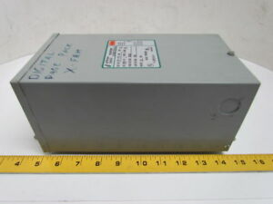 Jefferson Electric Single Phase Transformer 1 0 Kva 120x240v 12 24v Powerformer