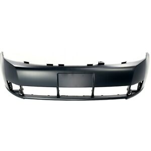 Front Bumper Cover For 2008 2011 Ford Focus W Fog Lamp Holes Primed Capa
