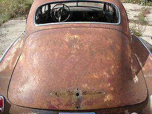 1950 50 Chevy Chevrolet Fleet Line Turtle Shell Trunk Lid