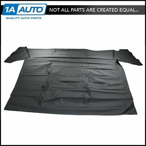Black Headliner Perforated For 64 66 Plymouth Barracuda Fastback