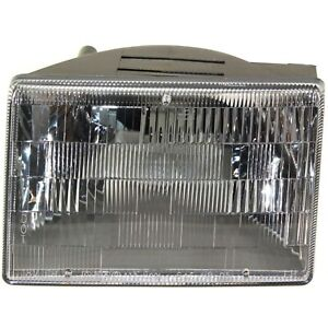 Headlight For 93 94 95 96 97 98 Jeep Grand Cherokee Left With Bulb