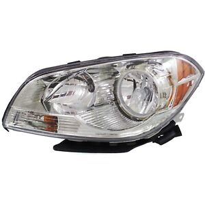 Headlight For 2008 2009 2010 2011 2012 Chevrolet Malibu Left With Bulb