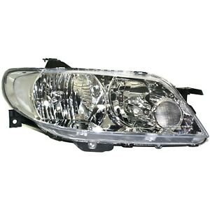 Headlight For 2002 2003 Mazda Protege5 Right With Aluminum Bezel