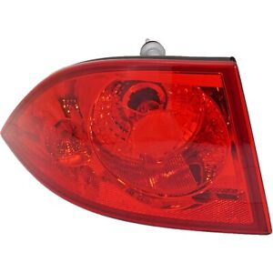 Tail Light For 2006 2011 Buick Lucerne Lh Outer