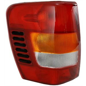 1999 2003 Replacement Driver Side Tail Light Housing For Jeep Grand Cherokee