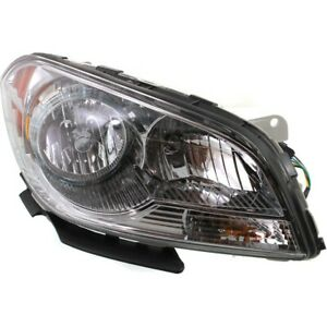 Headlight For 2008 2009 2010 2011 2012 Chevrolet Malibu Right With Bulb