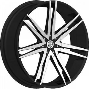 20 Inch Borghini B20 Black M Wheels Rims Tires Fit 5 X 114 3 Visit My Page