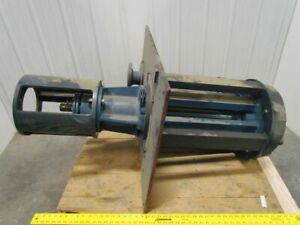 Kerr Pump Fig 5665 Size 3x2x12 Vertical Process Pump 80 Gpm 12 Impeller