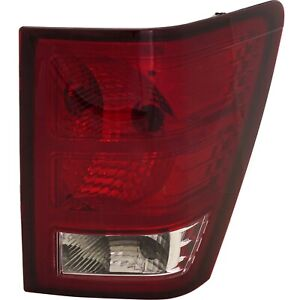 Tail Light For 2007 2010 Jeep Grand Cherokee Passenger Side