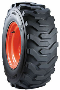 One New Carlisle 27x10 50 15 Case Bobcat New Holland Trac Chief Skid Steer Tire
