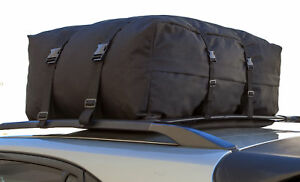 Car Van Suv Roof Top Cargo Rack Carrier Soft Sided Waterproof Luggage Travel Bag