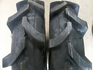 Two 7x16 7 16 Terramite Backhoe Deere Kubota 6 Ply R 1 Tubeless Tractor Tires