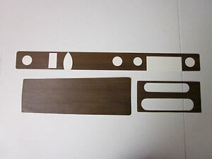 1969 Gto Dash And Console Wood Grain Trim For Models With Automatic Transmission