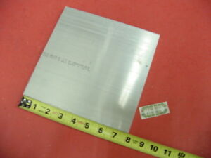 10 Pieces 3 4 X 8 X 8 6061 Aluminum Flat Bar T6511 Solid New Mill Stock Plate