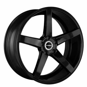 20 Inch Perfetto Gloss Black Wheels Rims Tires Fit 5 X 114 3 Special Offer