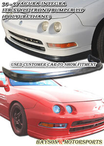 Itr Tr style Front Lip urethane Fits 94 97 Acura Integra 2 4dr