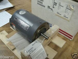 Lincoln Electric 1hp Ac Motor km428cn 208 230 460vac 60hz 1740 Rpm