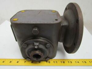 Browning Sm175c1 15 Model E 15 1 116rpm 56c Frame 83hp Speed Reducer Gear Box