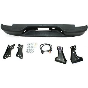 Step Bumper 99 05 Chevy Gmc Silverado Sierra 1500 Black Steel Stepside Flareside