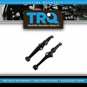 Trq Front Lower Control Arms W Bushings Pair Set New For 88 91 Civic Crx