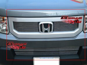 Fits 09 11 2011 Honda Element Billet Grille Combo