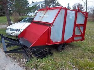 Olathe Leaf Sweepper Vac Pto Drive Three Point Hitch Large Hopper