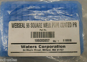 Lot Of 9 Waters Corp 96 Well Ptfe Coated Webseal Cap Mats 186000857