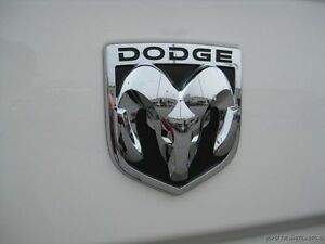 09 11 Dodge Ram 1500 2500 3500 Ram Head Emblem Badge Decal Large Tailgate Mopar