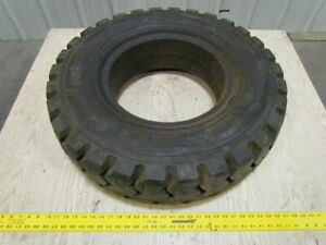 Monarch 7 50 15 30 O d Mono matic Solid Pneumatic Forklift Tire Usa Made