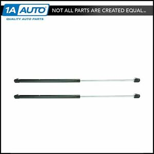 Rear Glass Lift Supports Struts Pair Set For 87 95 Jeep Wrangler