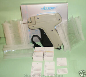 Clothing Price Label Tagging Tag Gun With 2000 Pins100 Price Labels 2 Needles