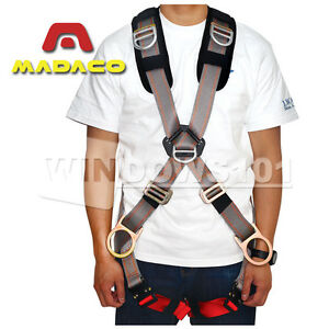 Madaco Retriever 5 Point Full Body Safety Harness 4 D Ring M l Medium Large New