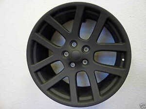 22 Oe Srt10 Wheels Black 5x5 50 Dodge Truck Durango