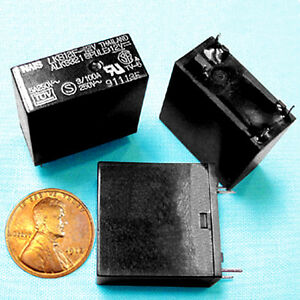 100 Power Relays Sensitive 21 Ma 12 V Coil 5 Ac Amps Contact Ul Rated